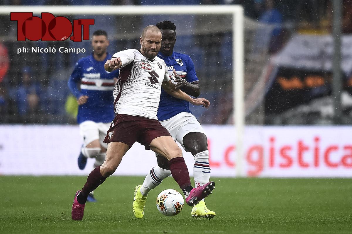 Lorenzo De Silvestri in Sampdoria-Torino