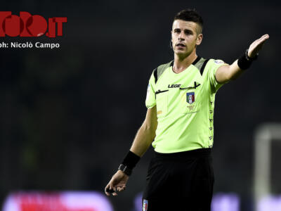 Torino-Lecce: per Giua un esordio (col Toro) da brividi