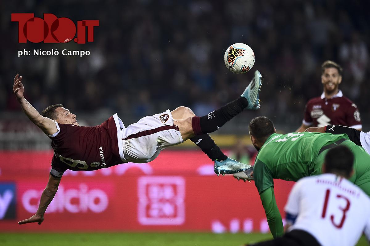 Belotti rovesciata in Torino-Milan 2-1