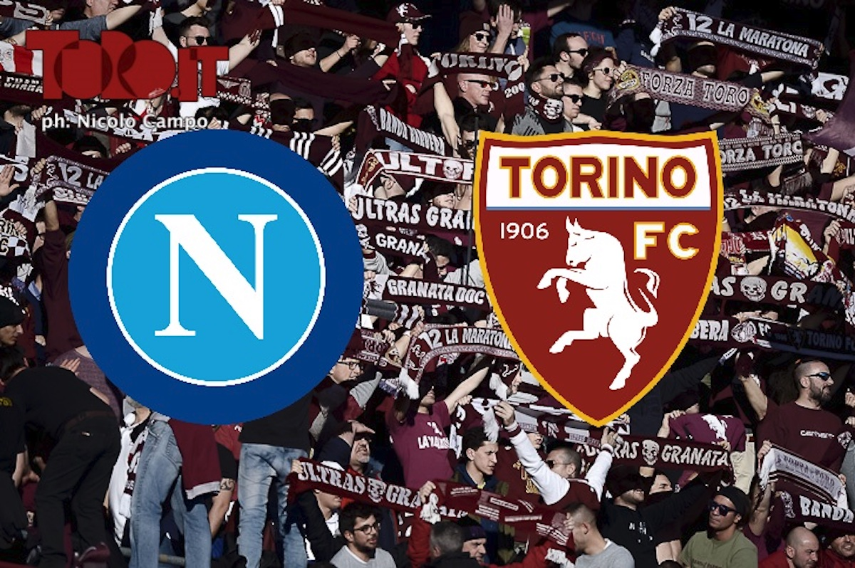 Napoli-Torino diretta