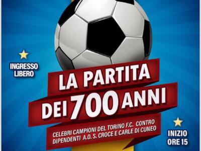 La Partita del Cuore Granata per i 700 anni del Santa Croce di Cuneo