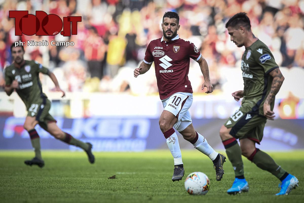 Iago Falque in Torino-Cagliari 1-1