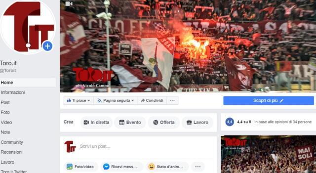 Segnalata la nostra pagina Facebook
