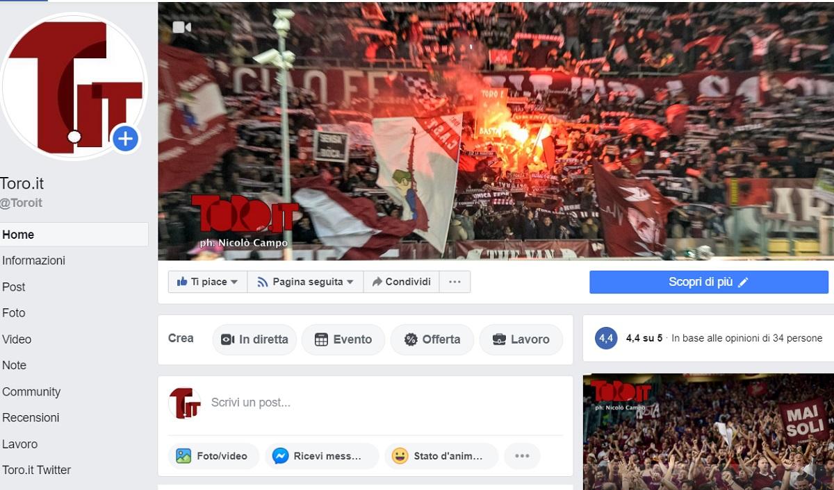 Toro.it Facebook