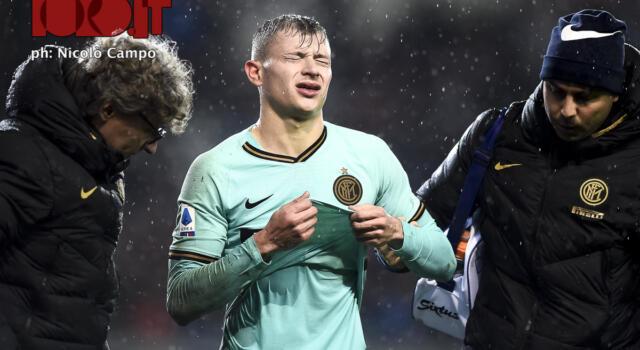 Inter, infortunio muscolare per Barella: salta il Toro