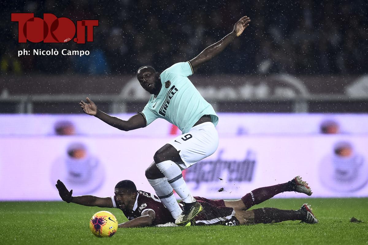 Lukaku e Bremer in Torino-Inter