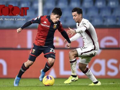 Coppa Italia, Torino-Genoa il 9 gennaio alle 21.15