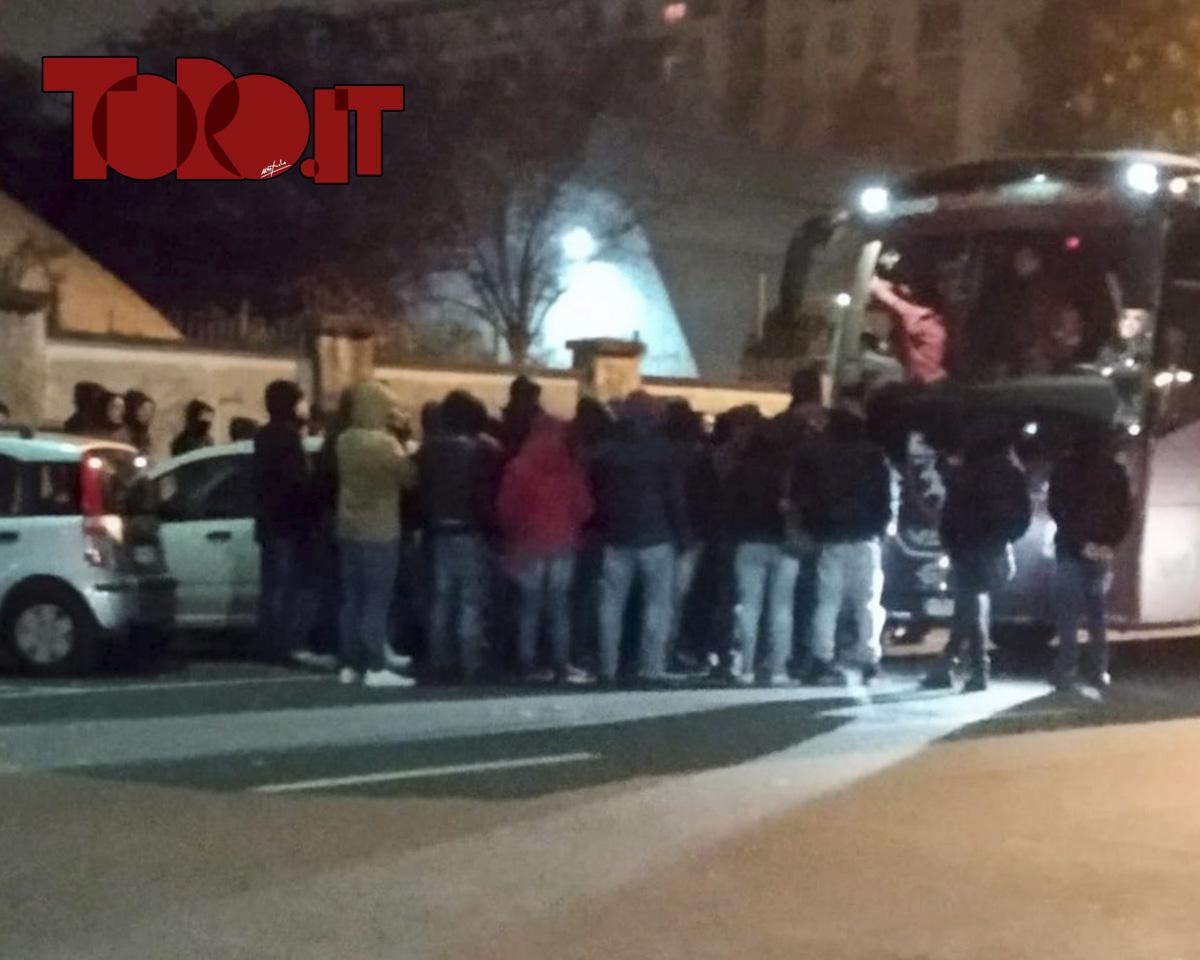 Tifosi Torino contestazione