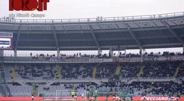 Curva Primavera in sciopero: gruppi fuori dallo stadio, il Toro la riempie di bambini