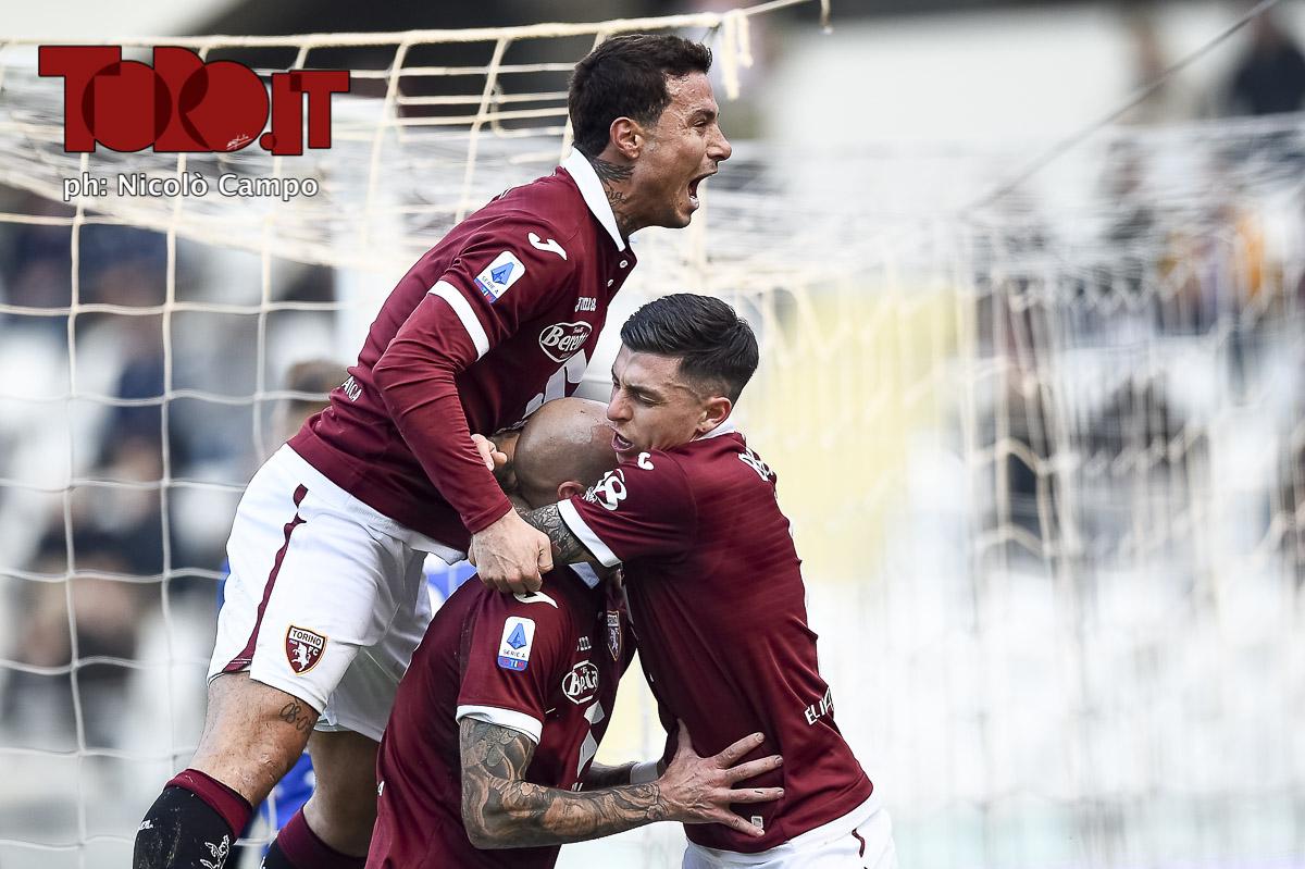Torino Fiorentina, esultanza al gol