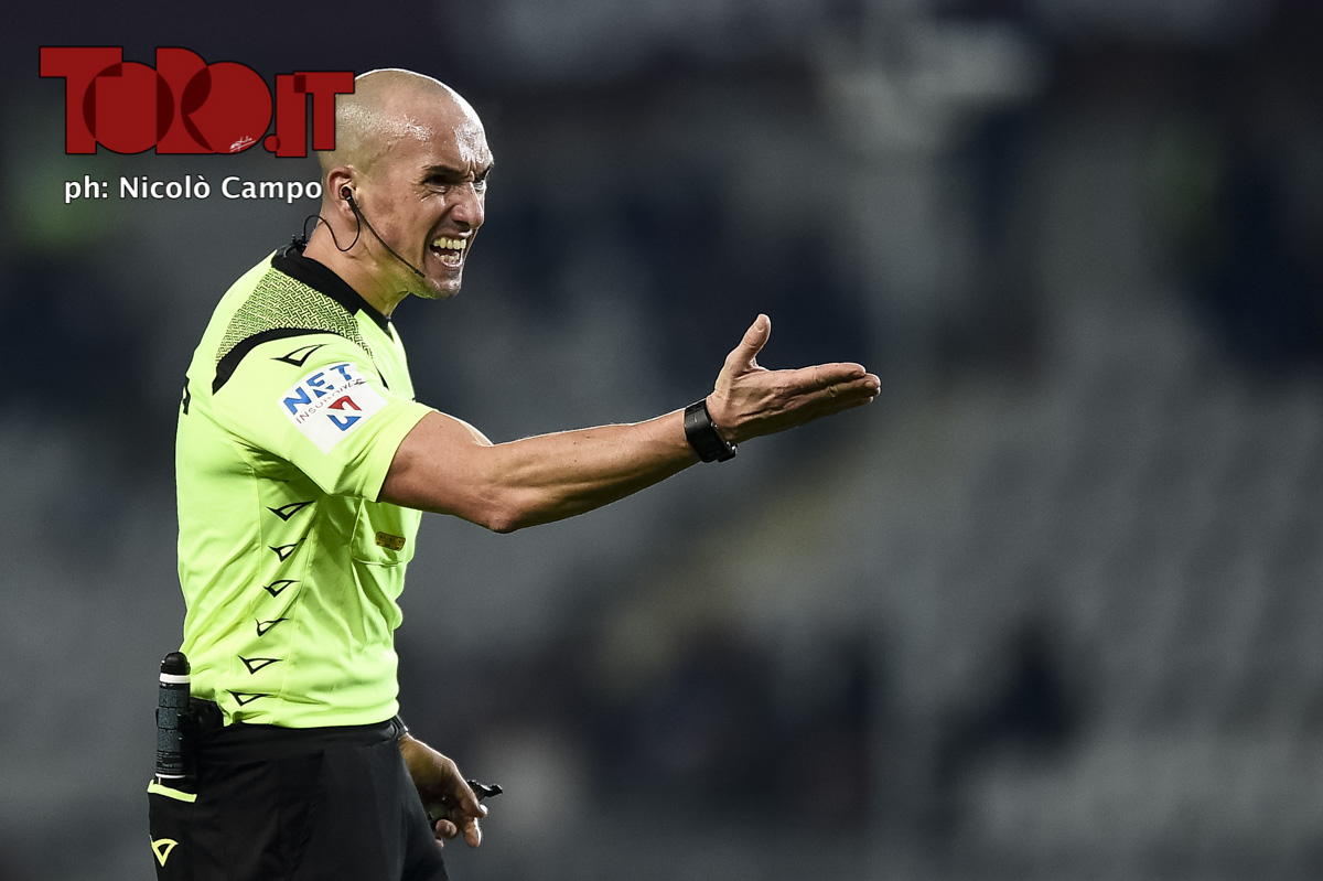 Arbitro Michael Fabbri