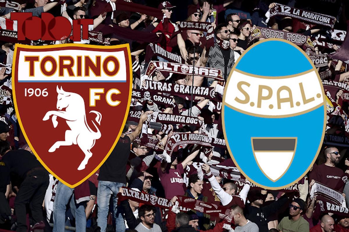 Torino-Spal, la diretta