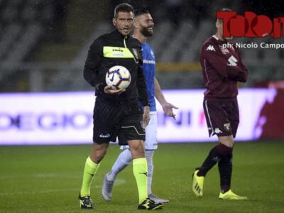 Milan-Torino: arbitra Pasqua. Banti al Var