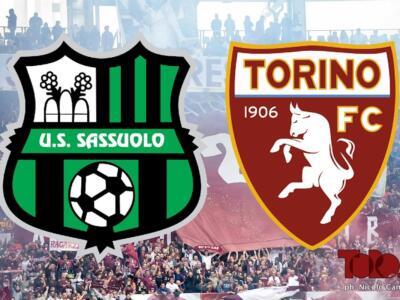 Sassuolo-Torino 3-3: il tabellino