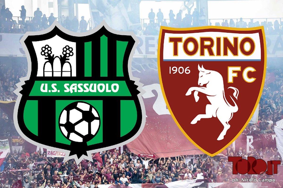 Sassuolo-Torino, la diretta