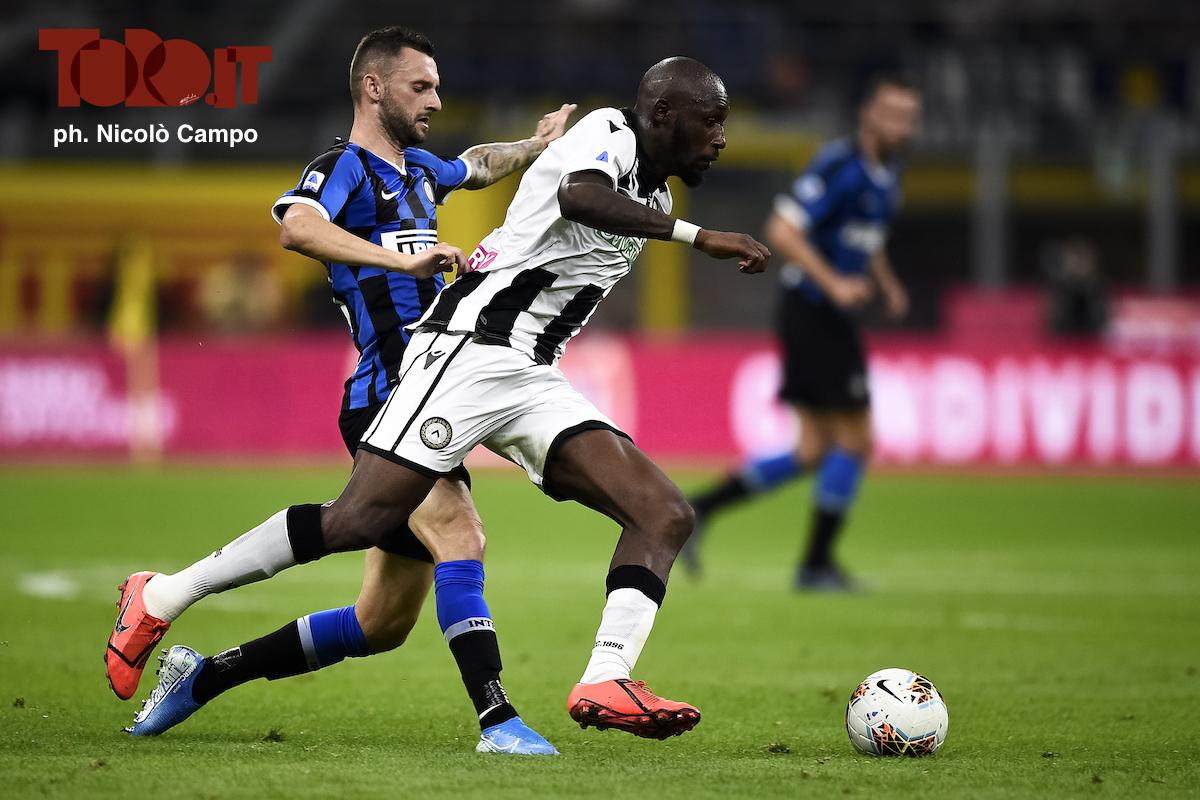 Seko Fofana e Marcelo Brozovic in Inter-Udinese