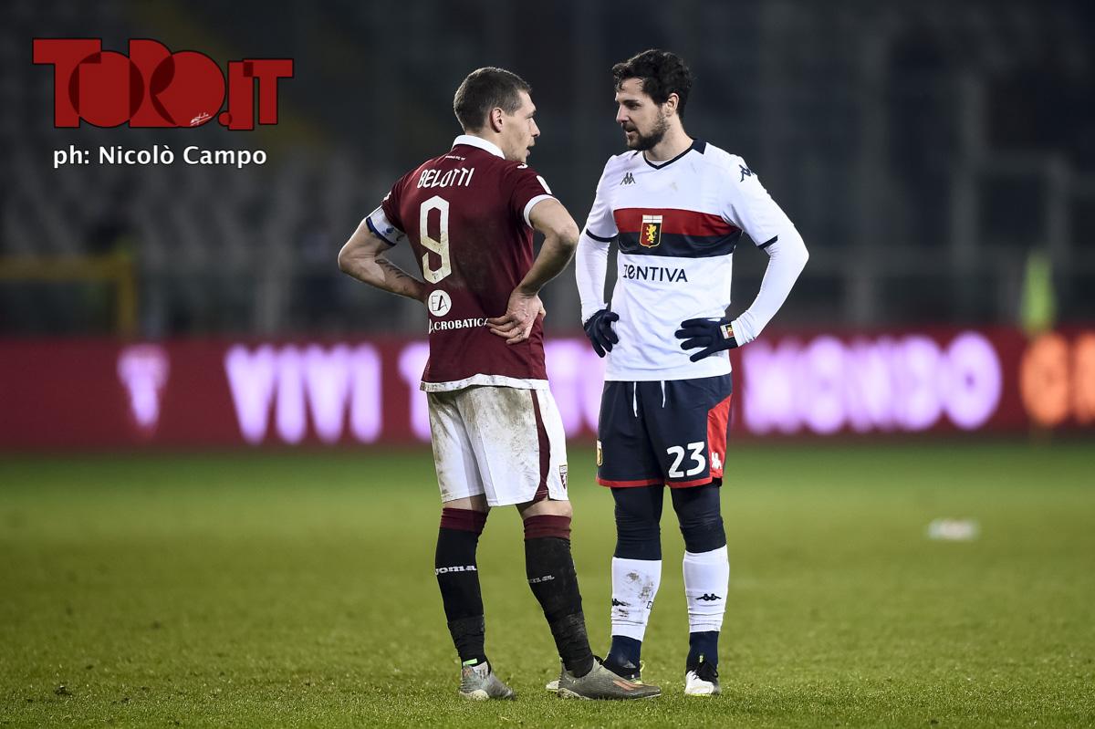 Belotti e Destro Torino-Genoa