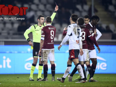 Napoli-Torino, arbitra Sacchi: un solo precedente in Coppa Italia