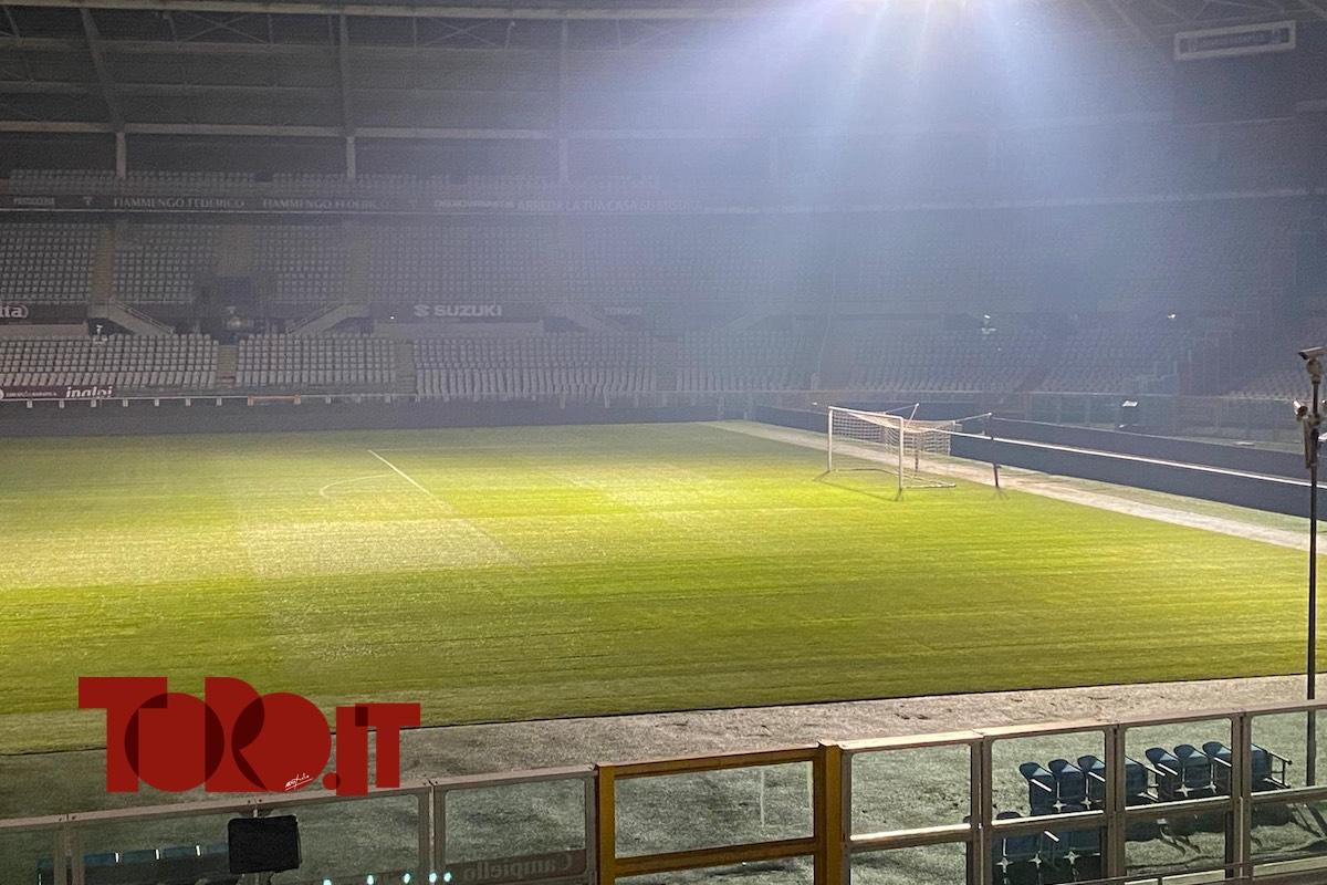 prato stadio Olimpico Grande Torino