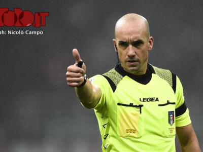 Torino-Juventus: Fabbri nega un rigore ai granata