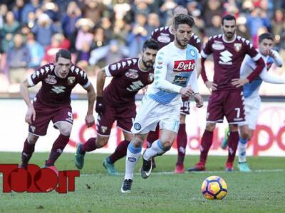 Torino-Napoli, i precedenti: spiccano i pareggi, granata avanti nei confronti casalinghi
