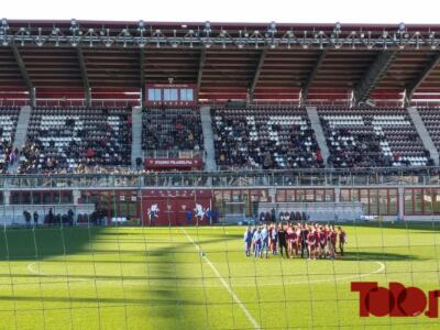 Torino, tutti al Filadelfia ad allenarsi dopo lo stop alla gara col Parma