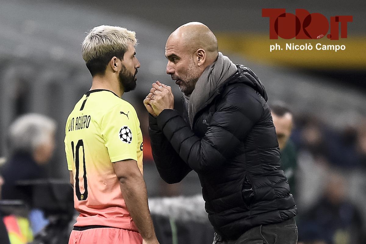 Aguero e Guardiola, Manchester City