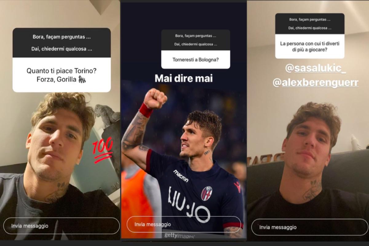 Lyanco, storie Instagram