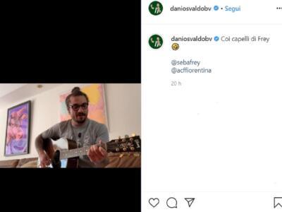 """Osvaldo, la canzone """"hot"""" sui capelli di Frey spopola sui social / Il video"""