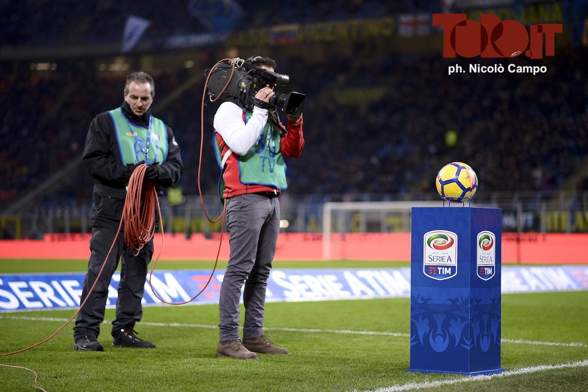 telecamera Serie A Sky Dazn