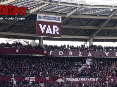 Torino-Parma, la moviola in diretta: arbitra Aureliano