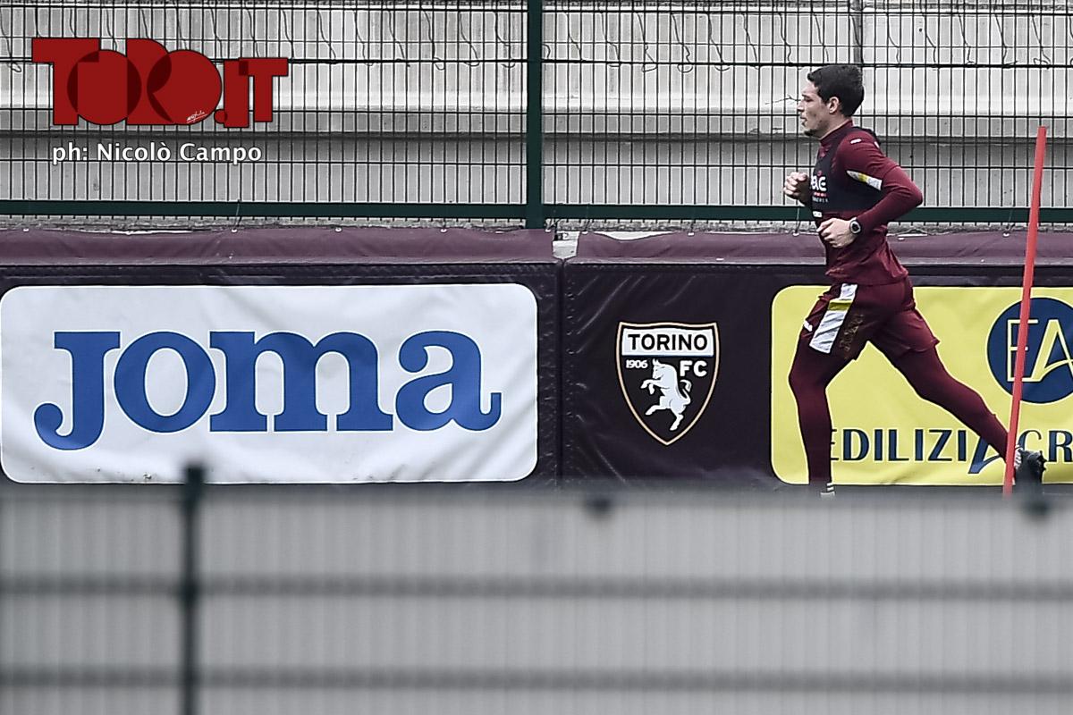 Andrea Belotti, allenamento