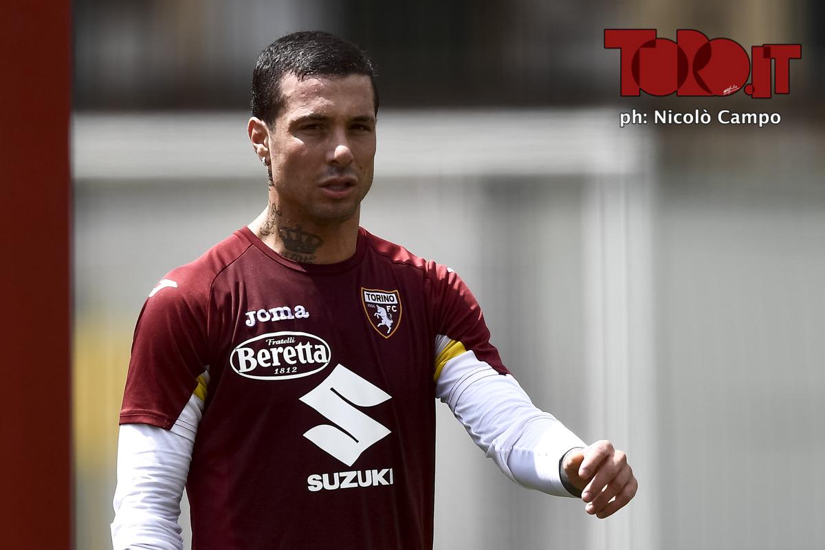 Armando Izzo, allenamento Torino