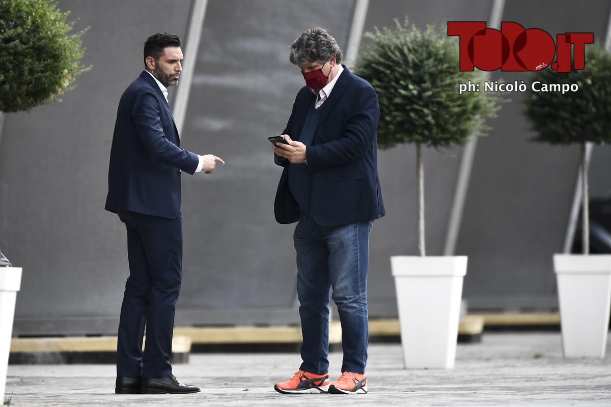 Davide Vagnati e Antonio Comi