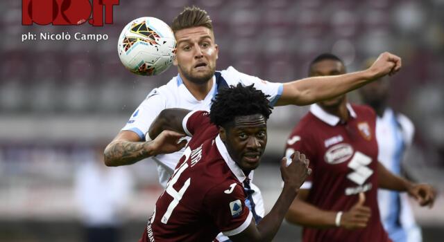 Torino-Lazio 1-2: i granata durano quattro minuti