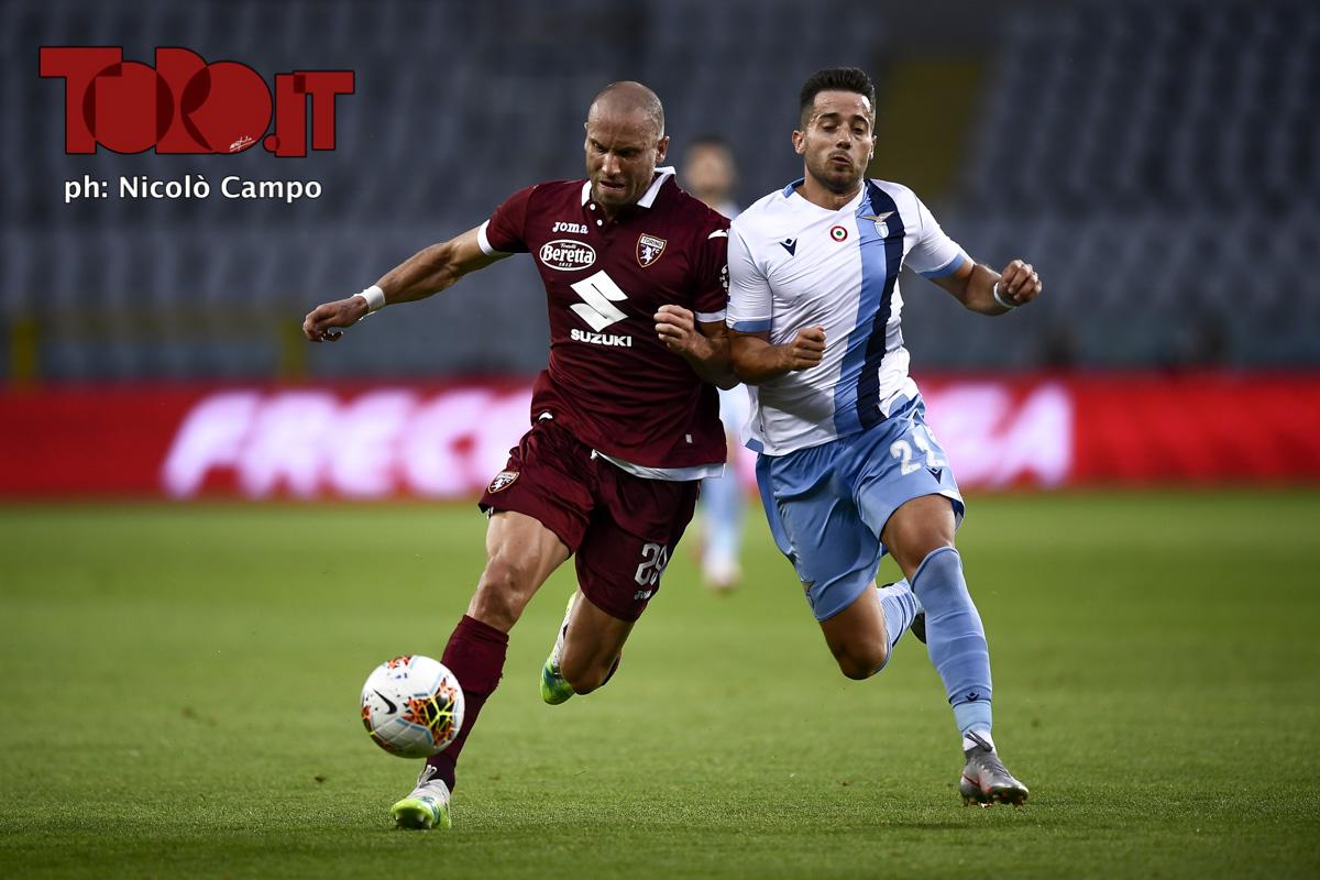 Lorenzo De Silvestri e Joni in Torino-Lazio 1-2, serie A 2019/2020