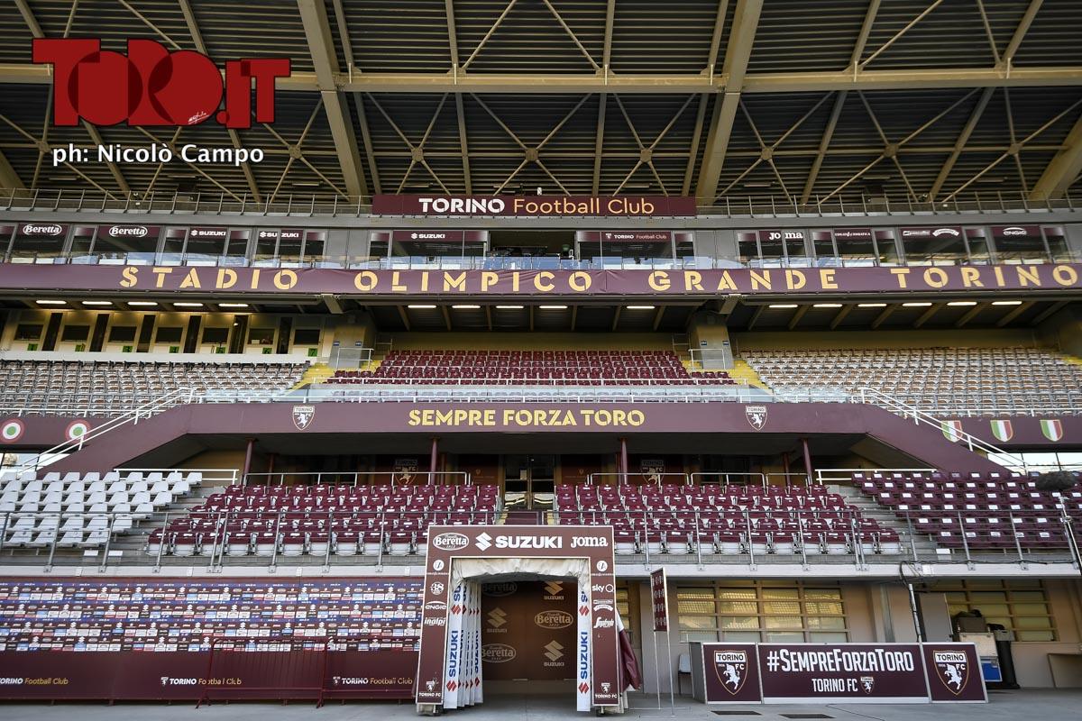 Tribuna dello stadio Olimpico Grande Torino