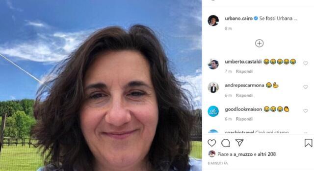 Urbano diventa… Urbana: Cairo gioca con FaceApp
