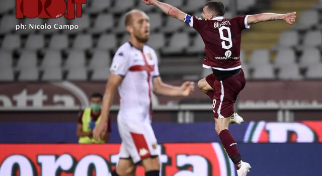 Torino, in trasferta l'unico punto stagionale. Per il Genoa una sola vittoria casalinga