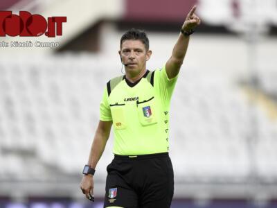 Torino-Genoa, nessun caso rilevante per Rocchi