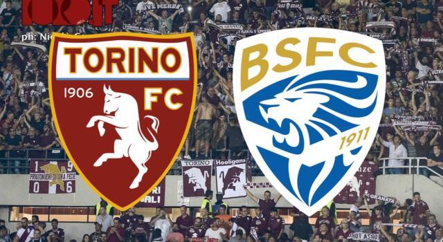 Torino-Brescia 3-1: il tabellino