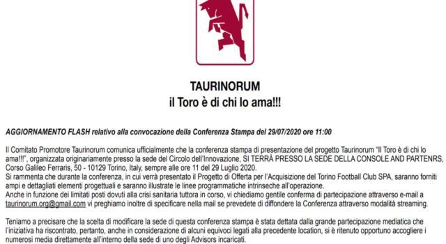 """Cordata Taurinorum, """"Console and Partners"""" è l'advisor dell'operazione. La conferenza cambia location"""