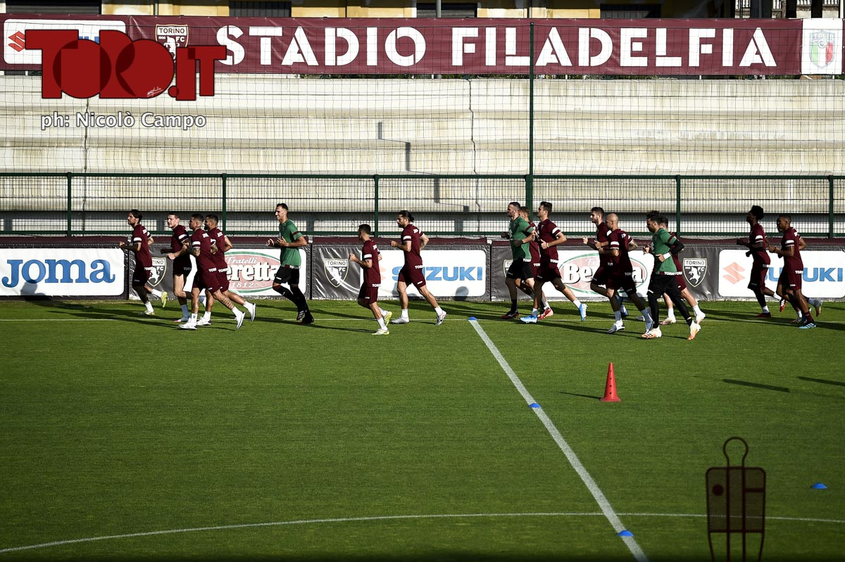 Allenamento Torino