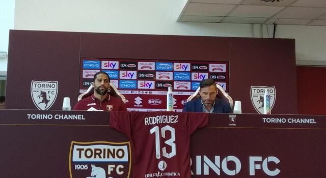 """Rodriguez si presenta: """"Ho scelto il Toro anche perché ha giocatori forti"""""""