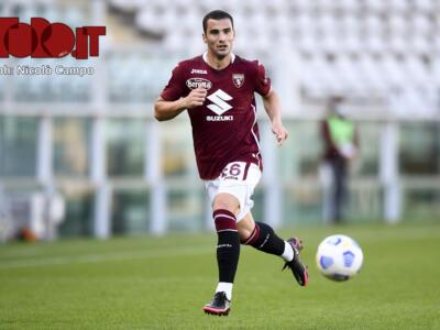 Torino, l'allenamento al Fila: Bonazzoli lavora a parte