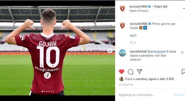 Primi passi granata: Gojak è arrivato a Torino