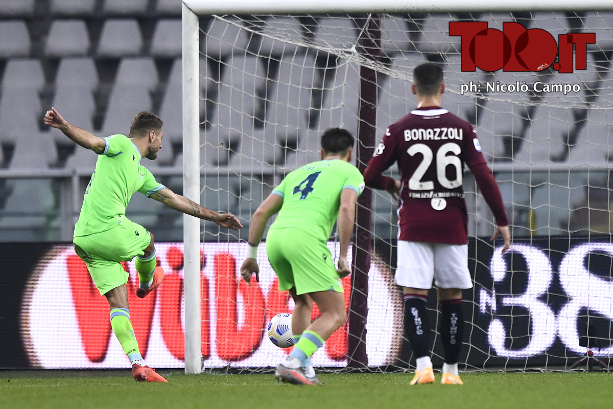 Ciro Immobile in Torino-Lazio