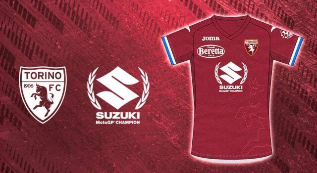 Toro, contro la Samp maglia speciale per festeggiare la vittoria in Moto Gp di Suzuki