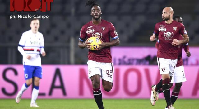 Riecco Meité: salva il Toro e torna al gol dopo due anni