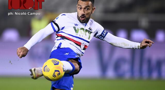 Sampdoria, la probabile formazione: Gabbiadini può affiancare Quagliarella